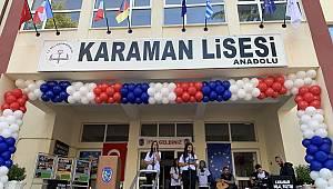 Karaman Lisesi'nde Erasmusdays etkinlikleri