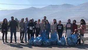 Kazım Karabekir Meslek Yüksekokulu'ndan Çevre Temizliği