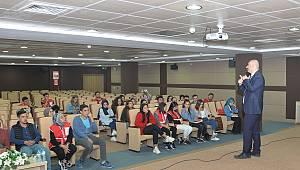 KMÜ'de Kan Bağışı ve Kök Hücre Bilgilendirme Semineri
