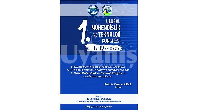 KMÜ, Mühendislik Ve Teknoloji Kongresi'ne Ev Sahipliği Yapacak