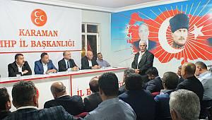 MHP ilçe ve beldelerde istişare toplantısı yapacak