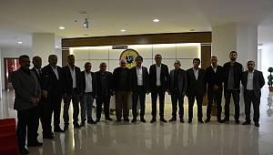 MHP Karaman İl Teşkilatı'ndan KTSO'ya ziyaret