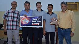 Öğrencilerin hedefi TEKNOFEST'te şampiyonluk