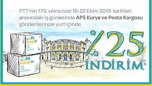 PTT'den %25 indirim kampanyası