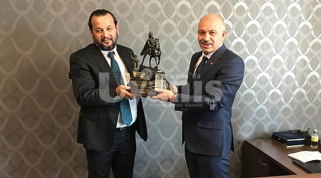 Rektör Akgül'den Ertuğrul Çalışkana Ziyaret
