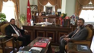 Rektör Akgül'den Karaman İl Müftüsüne Ziyaret