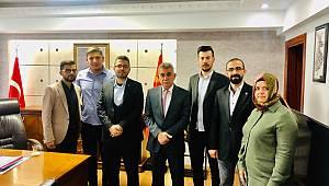 TÜGVA'dan Karaman Emniyet Müdürü'ne Ziyaret