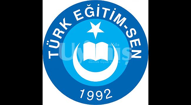 Türk Eğitim-Sen'den Kutlama Mesajı
