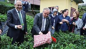 Vekil Şeker Doğu Karadeniz'e ziyaret gerçekleştirdi