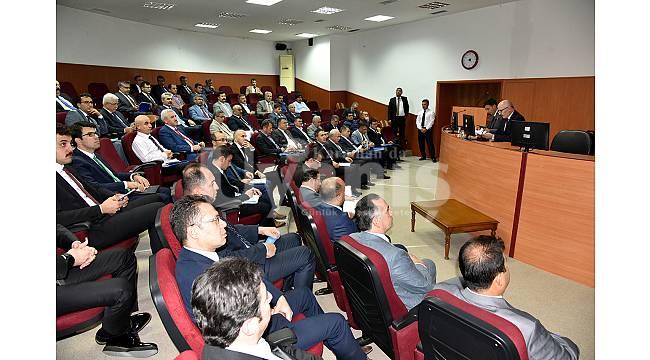 Yatırımların Değerlendirildiği Koordinasyon Kurulu Toplandı