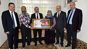 Bakan Yardımcısı Ersoy'dan Şehit ve Gazi Ailelerine ziyaret