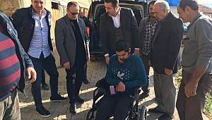 Ermenek'te Engelli Vatandaşlara Akülü Araba