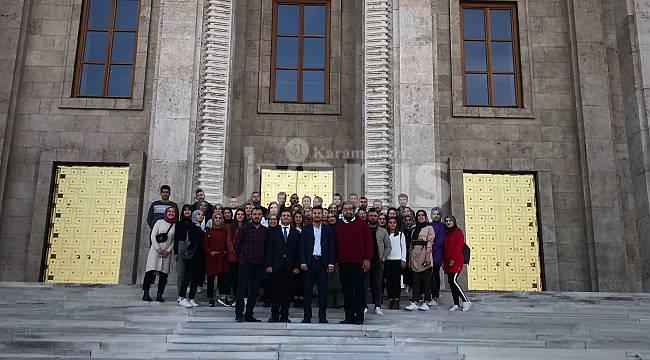 Finans, Bankacılık ve Sigortacılık Öğrencilerinden Ankara'ya Teknik Gezi