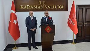 İçişleri Bakan Yardımcısı Ersoy, Karaman'da
