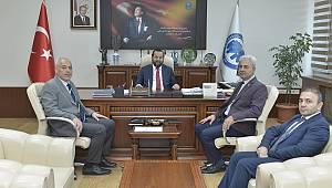 İl Sağlık Müdürü Kurşun'dan Rektör Akgül'e iade-i ziyaret