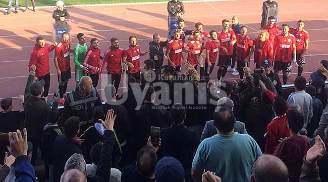 Karaman Belediyespor Evinde 3 Puanı Kaptı