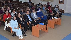 Karaman'da Kadınların Ekonomik Güçlenme Semineri Düzenlendi