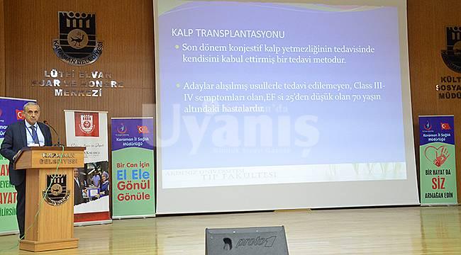 Karaman'da Organ Bağışı ve Nakli Konferansı