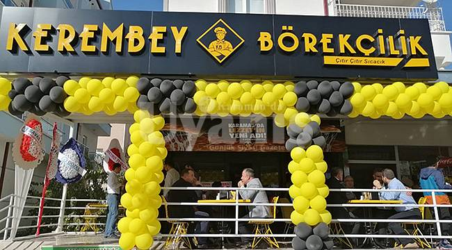 Kerembey Börekçilik Açıldı