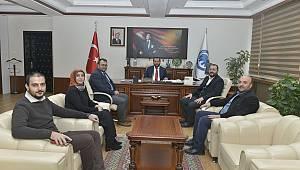 Kızılay Karaman Şubesinden Rektör Akgül'e Ziyaret