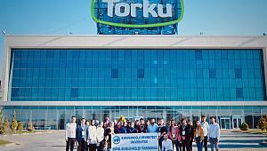 KMÜ öğrencilerinden Konya Şeker Torku'ya teknik gezi