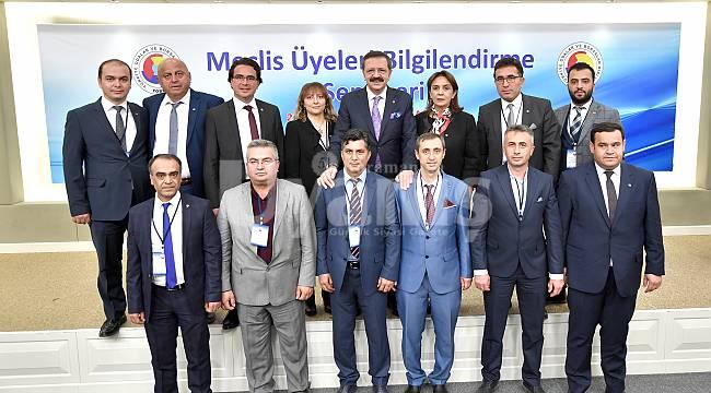 """KTSO Meclis Üyeleri, """"TOBB Meclis Üyeleri Bilgilendirme Seminerine"""" Katıldı"""