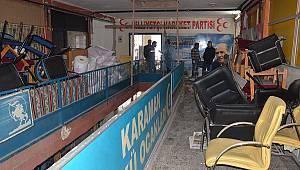MHP İl Binası Yenileniyor