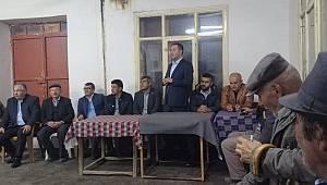 MHP Teşkilatı'nın Kızıllarağini ve Taşkale ziyaretleri