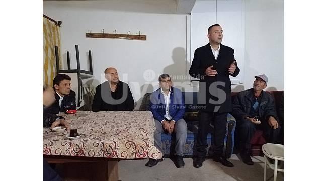 MHP Teşkilatı'nın Morcalı köy ziyareti