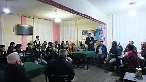 MHP Teşkilatı'nın Süleymanhacı ve Ortaoba köy ziyaretleri