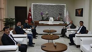 Milletvekili Şeker'den, İl Müdürü Mehmet Çalışkan'ı Ziyaret