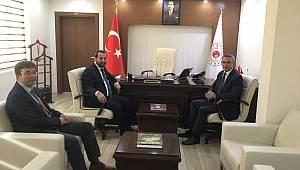 Rektör Akgül'den İl Müdürlerine Ziyaret