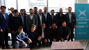 TÜGVA Genel Başkanı Eminoğlu Karaman'da