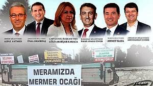 CHP Heyeti Mermer Ocakları İçin Karaman'a Geliyor