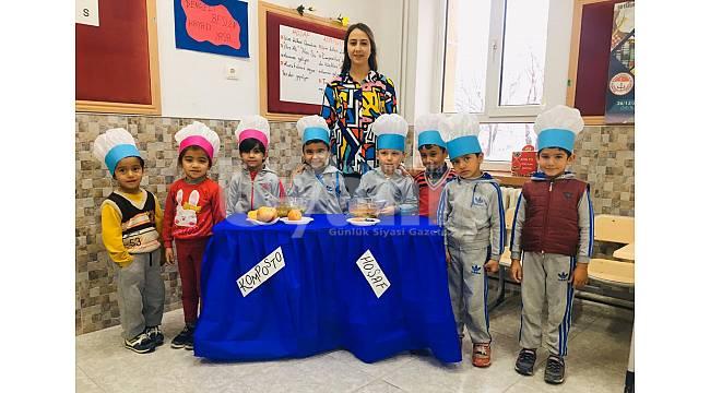 Dr. Faruk Sükan İlk ve Ortaokulunun 'Her Sınıfında Üretim Var'