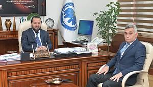 İl Emniyet Müdürü Taş'tan Rektör Akgül'e Ziyaret