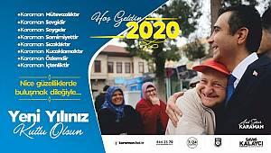 Karaman Belediye Başkanı Kalaycı'nın Yeni Yıl Mesajı
