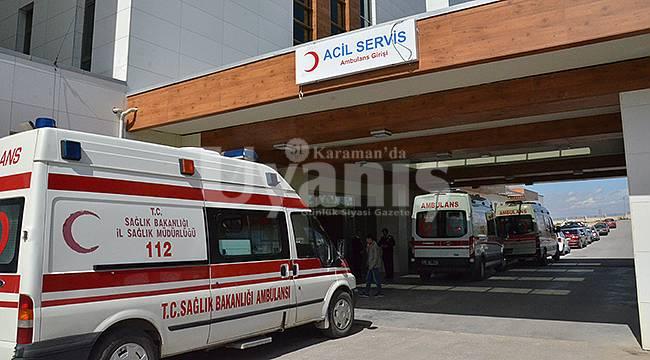 Karaman'da Elektrik Akımına Kapılan İşçi Ağır Yaralandı