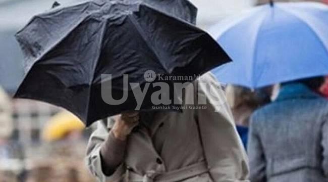 Karaman'da Kuvvetli Rüzgar ve Fırtına Bekleniyor