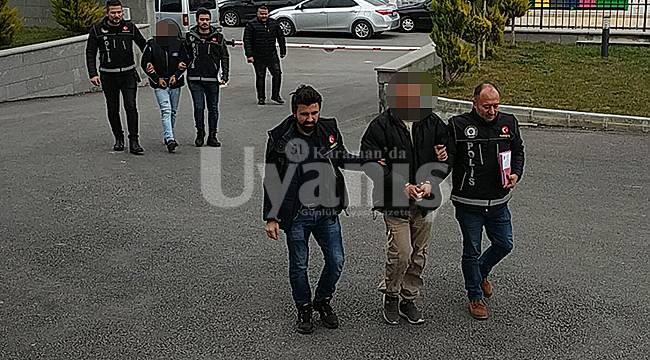 Karaman'da Yabancı Uyruklu Uyuşturucu Satıcısı Tutuklandı