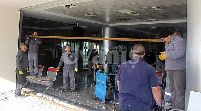 Karaman Devlet Hastanesi Acil Servis 1. Basamak Yoğun Bakım Birimi Açılması Çalışmalarına Başlandı