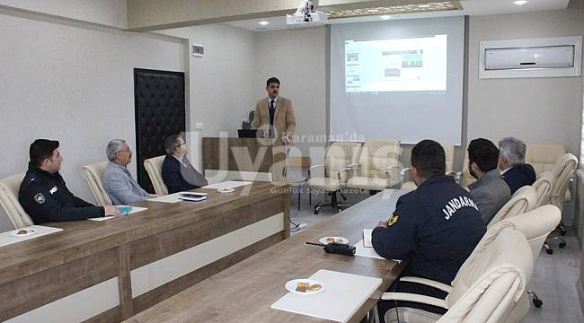 Kazımkarabekir Kadına Yönelik Şiddet Toplantısı Yapıldı