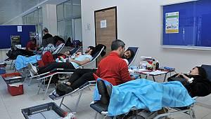 KMÜ'de kan bağışı ve kök hücre kampanyası