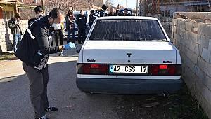 Konya'da Çalındığı İddia Edilen Otomobil Karaman'da Bulundu