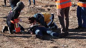 Paramedik Öğrenciler Yaralılar Için Yarış Yaptı
