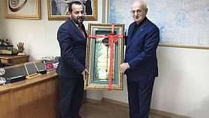 Rektör Akgül'den Kahraman'a Ziyaret