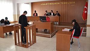 Sınıf Mahkeme Salonu Oldu