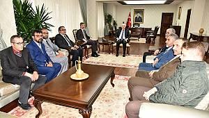 Türk Diyanet Vakıf-Sen'den Vali Meral'e Ziyaret