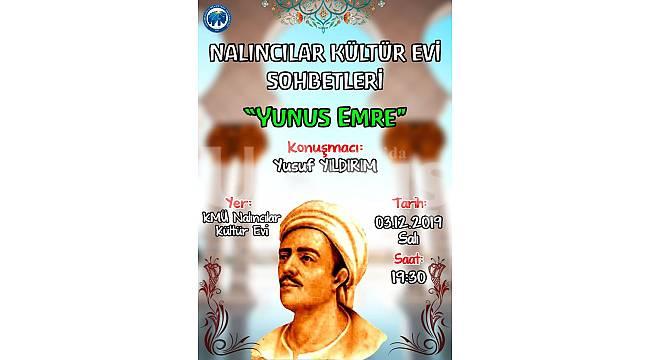 Yıldırım 'Yunus Emre'yi anlatacak