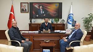 Ziraat Odası Başkanından Rektör Akgül'e Ziyaret